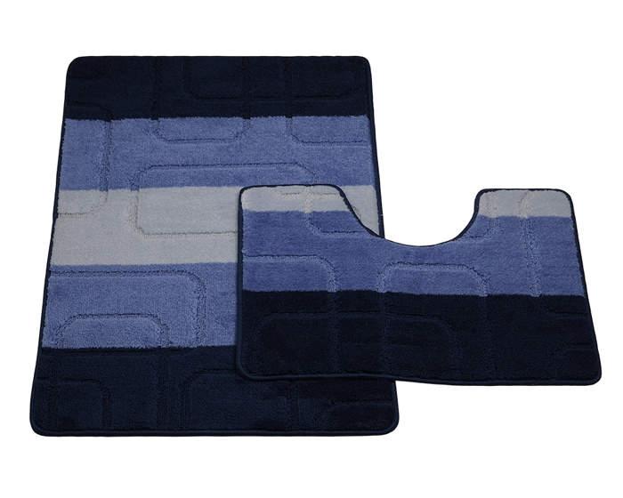 Мягкий коврик для туалета 50x50 см WESS Belorr green