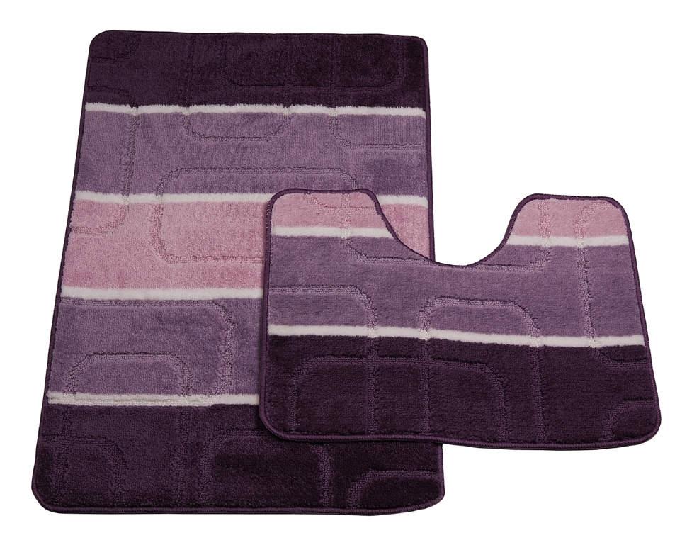 Мягкий коврик для туалета диаметр 60 cм WESS Numkesh beige